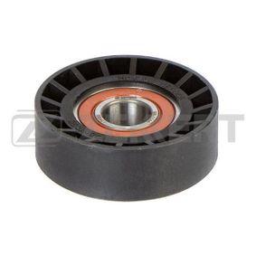 Tensioner Pulley, v-ribbed belt Width: 22mm with OEM Number 252812A100