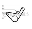 OEM CONTITECH CT714K1 HYUNDAI i30 Timing belt kit