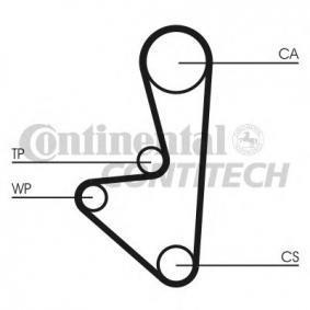 Timing Belt Set CT718K1 206 Hatchback (2A/C) 1.1 i MY 2003