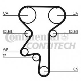 Water pump and timing belt kit Article № CT870WP2 £ 140,00