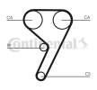 CONTITECH CT881K2 Cam belt kit MAZDA 121 MY 1996