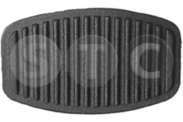 STC  T400413 Revestimiento pedal, embrague