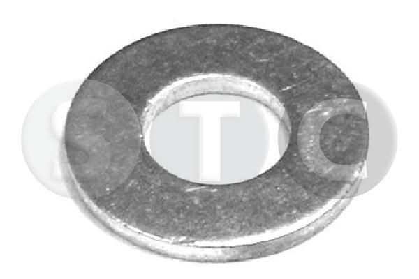 STC  T402051 Anillo de junta, tapón roscado de vaciado de aceite Ø: 21mm, Espesor: 2mm, Diám. int.: 10mm