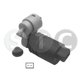 Water Pump, window cleaning Voltage: 12V, Number of connectors: 2 with OEM Number 1450185