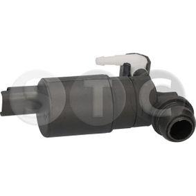 Waschwasserpumpe, Scheibenreinigung Spannung: 12V, Anschlussanzahl: 2 mit OEM-Nummer 8200194414