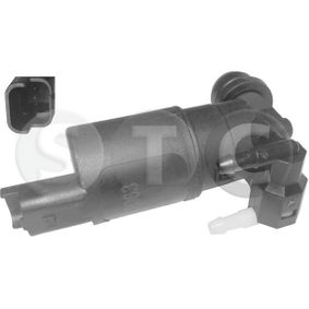 Water Pump, window cleaning Voltage: 12V, Number of connectors: 2 with OEM Number 8200030639