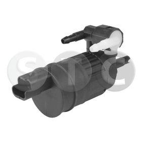 Waschwasserpumpe, Scheibenreinigung Spannung: 12V, Anschlussanzahl: 2 mit OEM-Nummer 8200213042