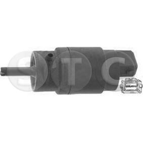 Water Pump, window cleaning Voltage: 12V, Number of connectors: 2 with OEM Number 6434C9