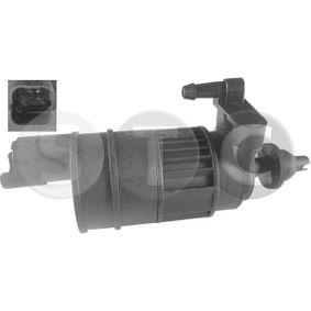 Waschwasserpumpe, Scheibenreinigung Spannung: 12V, Anschlussanzahl: 2 mit OEM-Nummer 82 00 213 042