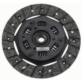Clutch Disc 1878 600 842 PUNTO (188) 1.2 16V 80 MY 2000