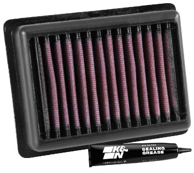 K&N Filters  TB-9016 Légszűrő Hossz: 137mm, Szélesség: 106mm, Magasság: 38mm