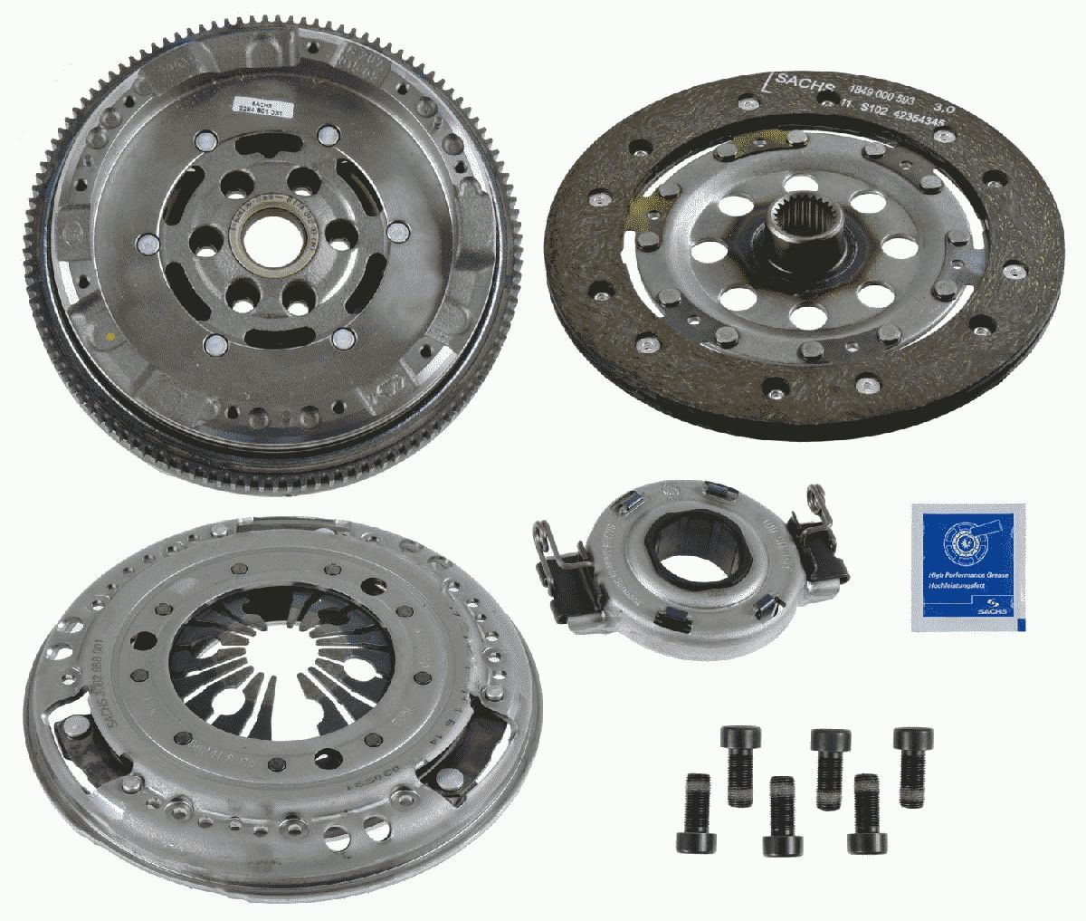 SACHS ZMS Modul XTend 2290 601 012 Clutch Kit Ø: 180mm, Mounting Type: not pre-mounted