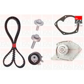 Water pump and timing belt kit TBK357-6441 Clio 4 (BH_) 1.5 dCi 110 MY 2017
