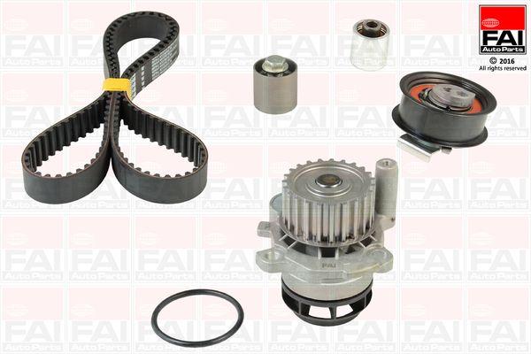 FAI AutoParts  TBK457-6445 Kit cinghia distribuzione, pompa acqua