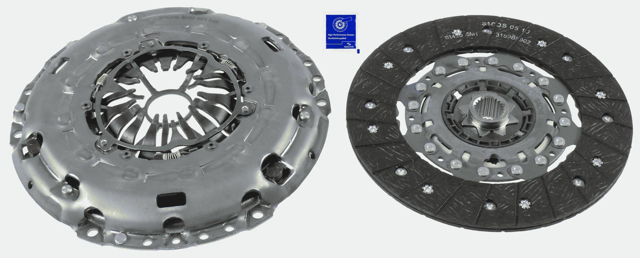 SACHS Kupplungssatz Schaltgetriebe  3000 951 945