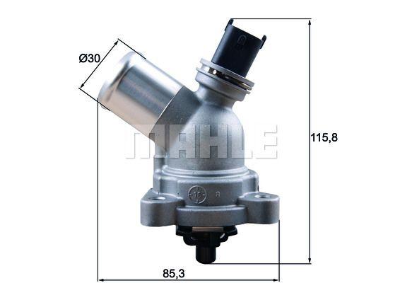 BEHR THERMOT-TRONIK  TM 41 105 Thermostat, coolant