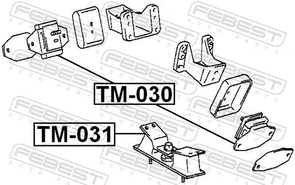Motor Mount FEBEST TM-031 rating