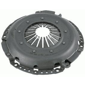 SACHS Kupplungsdruckplatte 3082 308 041 für AUDI A6 (4B2, C5) 2.4 ab Baujahr 07.1998, 136 PS
