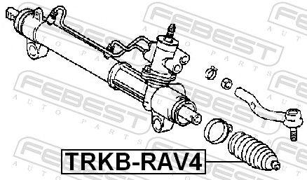 Bellow, steering FEBEST TRKB-RAV4 rating