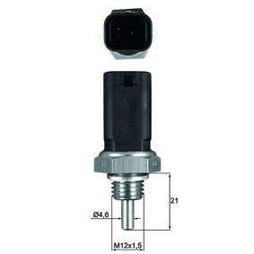 Sensore, Temperatura refrigerante N° poli: 3a... poli con OEM Numero 2263000Q3B