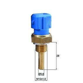 Sensore, Temperatura refrigerante N° poli: 2a... poli con OEM Numero 1362 1 709 967