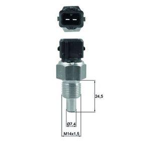 Sensor, temperatura del refrigerante Número de polos: 2polos con OEM número 96033248