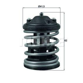 BEHR THERMOT-TRONIK  TX 163 87D2 Thermostat, coolant