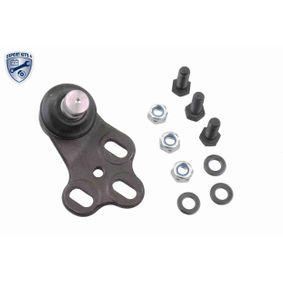 VAICO Traggelenk V10-7186-1 für AUDI 80 Avant (8C, B4) 2.0 E 16V ab Baujahr 02.1993, 140 PS