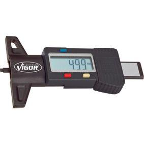 VIGOR  V1584 Messgerät, Profiltiefe