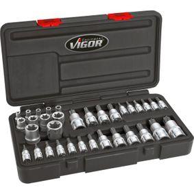 VIGOR  V1781 Steckschlüsselsatz