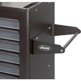 VIGOR Suporte de rolo de papel, carros de ferramentas V2397