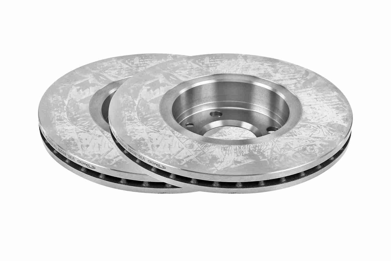 VAICO  V30-80098 Brake Disc Brake Disc Thickness: 22mm, Rim: 4-Hole, Ø: 258mm