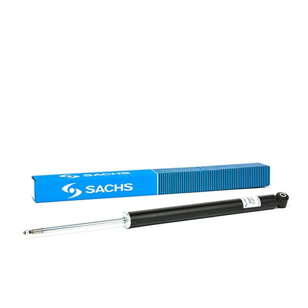 SACHS Shock Absorber Twin-Tube, Gas Pressure, Top pin, Bottom eye