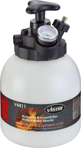 VIGOR  V4411 Fyll- / ventilasjonsapparat, bremsehydraulikk