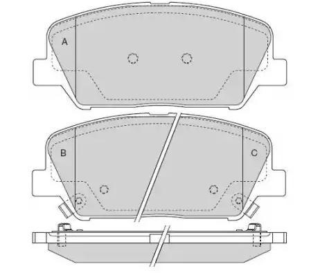 Bremsbeläge V52-0294 VAICO V52-0294 in Original Qualität
