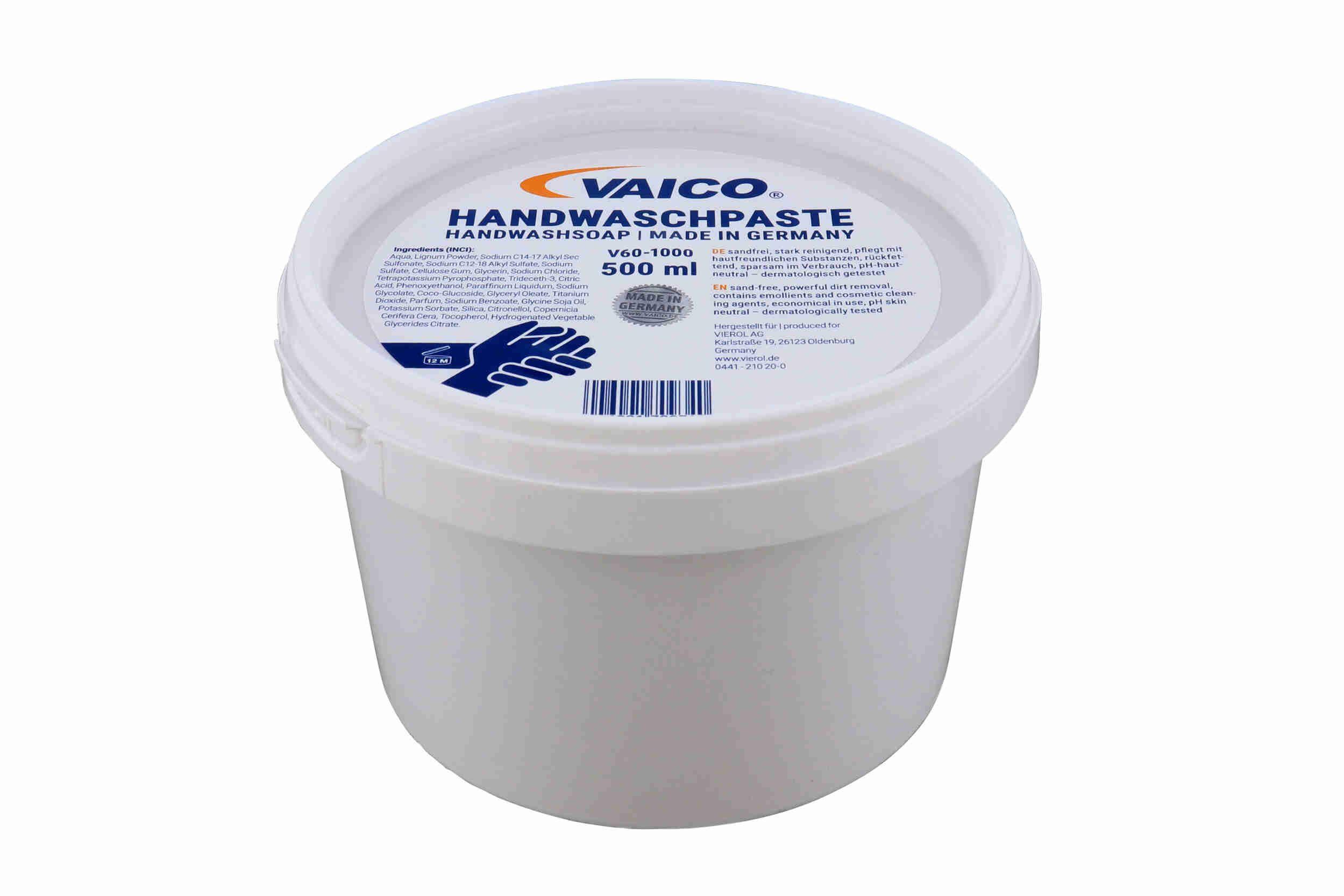 Produto de limpeza das mãos VAICO Handwaschpaste classificação