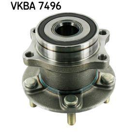 Radlagersatz VKBA 7496 IMPREZA Schrägheck (GR, GH, G3) 2.5 WRX STI AWD (GRF) Bj 2013