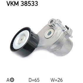 SKF  VKM 38533 Spannrolle, Keilrippenriemen Ø: 65mm, Breite: 26mm