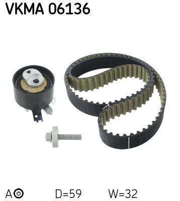 SKF Art. Nr VKMA 06136 advantageously