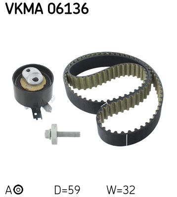 SKF VKMA06136 EAN:7316576997747 Tienda online