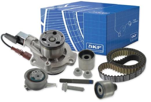 Water Pump + Timing Belt Kit SKF VKMA01278 rating