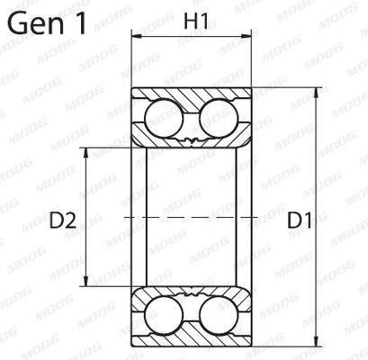 Wheel Bearing MOOG VO-WB-11032 rating