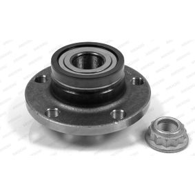 Radlagersatz mit OEM-Nummer 6Q0 598 611 A