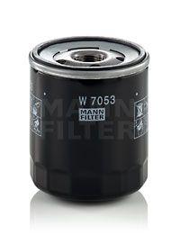 Filtro de Aceite MANN-FILTER W7053 conocimiento experto