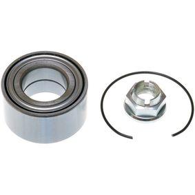 Radlagersatz Ø: 72mm, Innendurchmesser: 37mm mit OEM-Nummer 7700822985