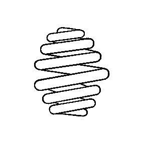 Coil Spring Article № 996 499 £ 140,00