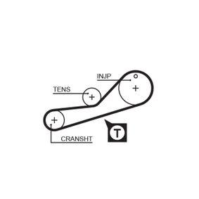 GATES FleetRunner™ Micro-V® Stretch Fit® 5452XS Zahnriemen Länge: 810mm, Breite: 22mm