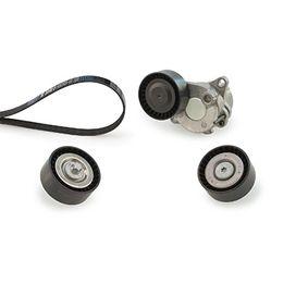 GATES FleetRunner™ Micro-V® Kit T36162 Umlenkrolle Keilrippenriemen Ø: 80mm
