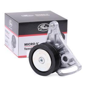 Spannrolle, Keilrippenriemen VW PASSAT Variant (3B6) 1.9 TDI 130 PS ab 11.2000 GATES Spannrolle, Keilrippenriemen (T38068) für