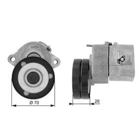 GATES FleetRunner™ Micro-V® Kit T38213 Spannrolle, Keilrippenriemen